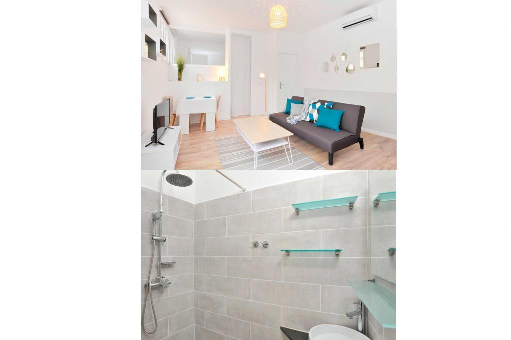 Location d 39 appartement t1 meubl de particulier cannes for Location meuble cannes