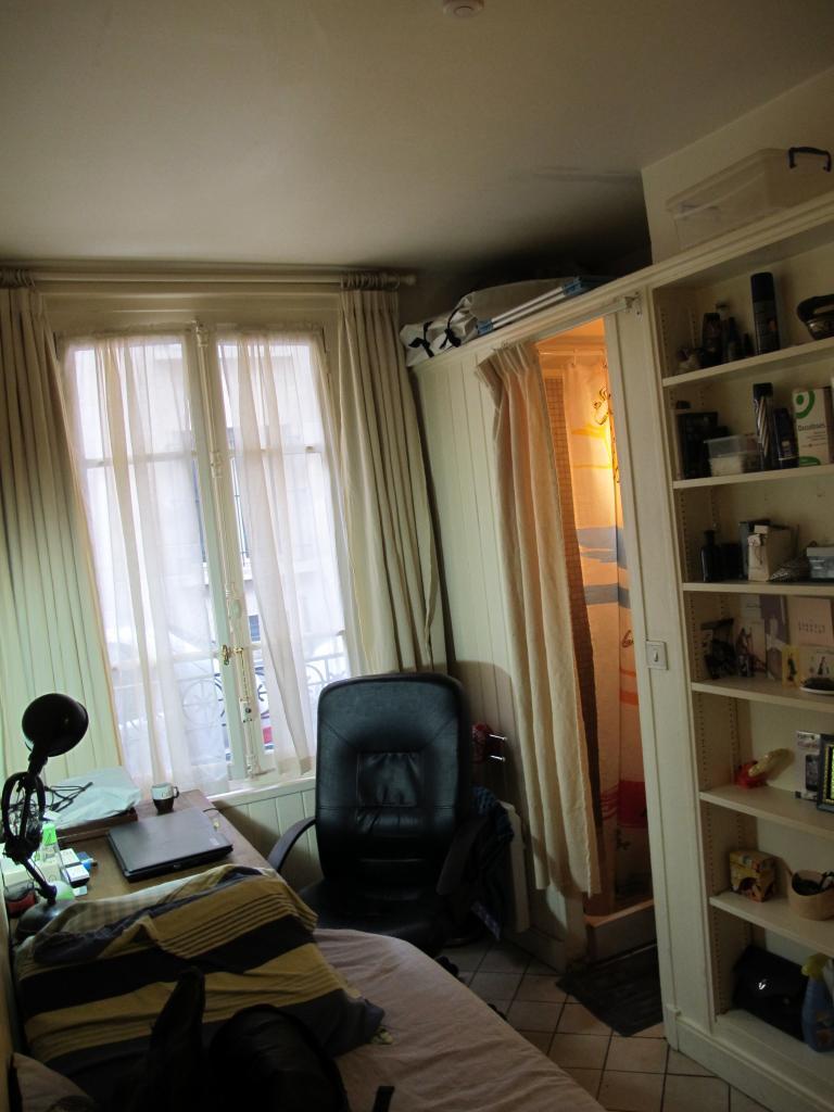 location de studio meubl sans frais d 39 agence paris 75017 450 10 m