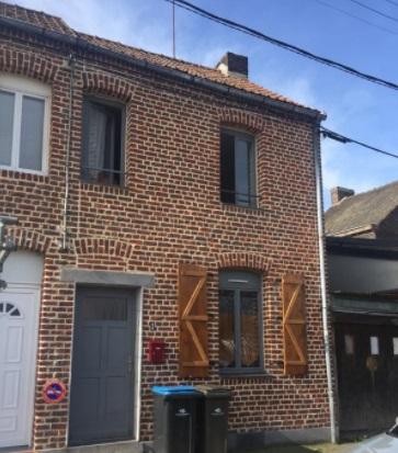 Location de maison f2 de particulier particulier for Cuisine 59 denain