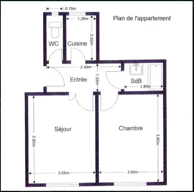 plan appartement paris sans agence