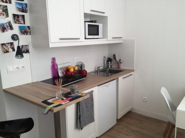 Location appartement T1 Lille - Photo 1