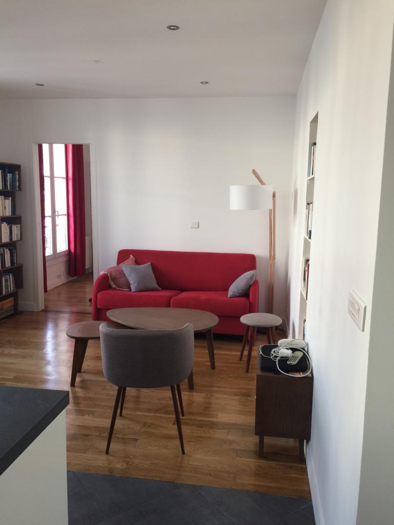 Appartement particulier à Paris 10, %type de 35m²