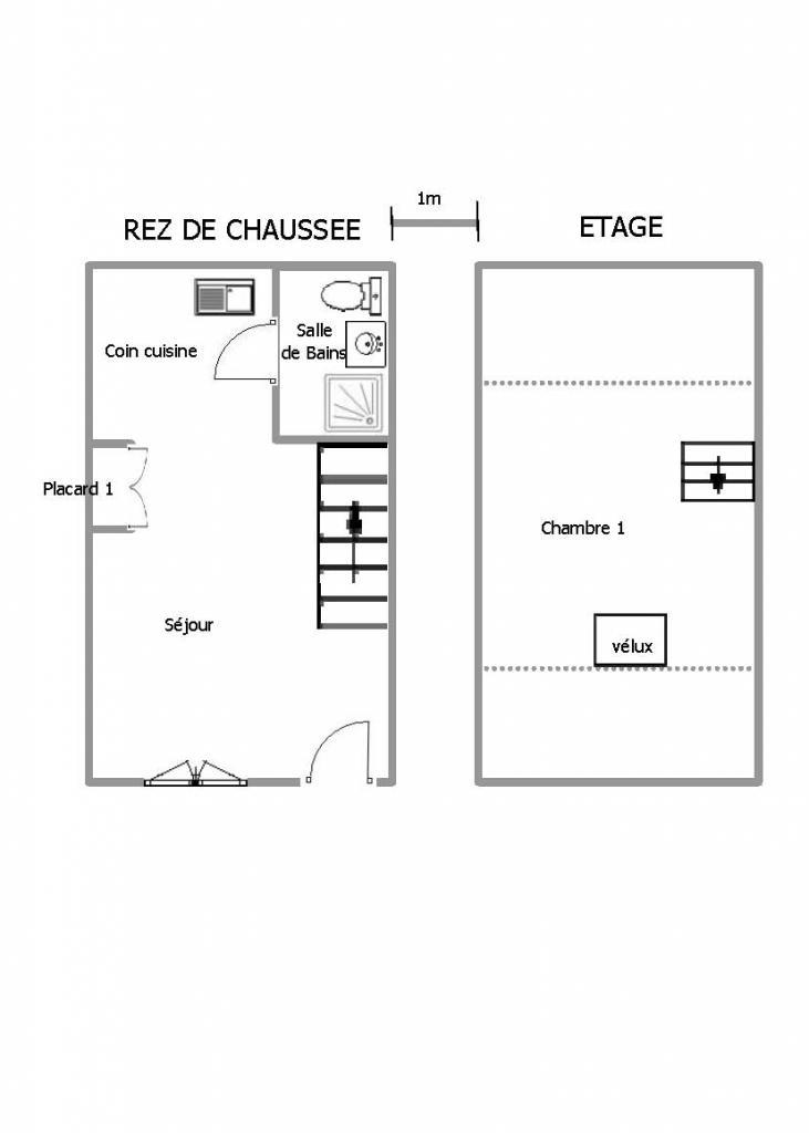 location d 39 appartement t2 de particulier troyes 395 38 m. Black Bedroom Furniture Sets. Home Design Ideas