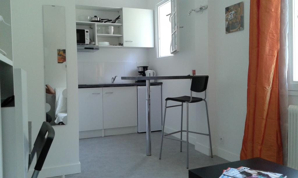 Location appartement entre particulier Sainte-Sève, de 15m² pour ce studio
