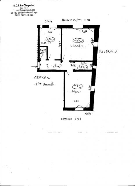 Location appartement T2 Creteil - Photo 1