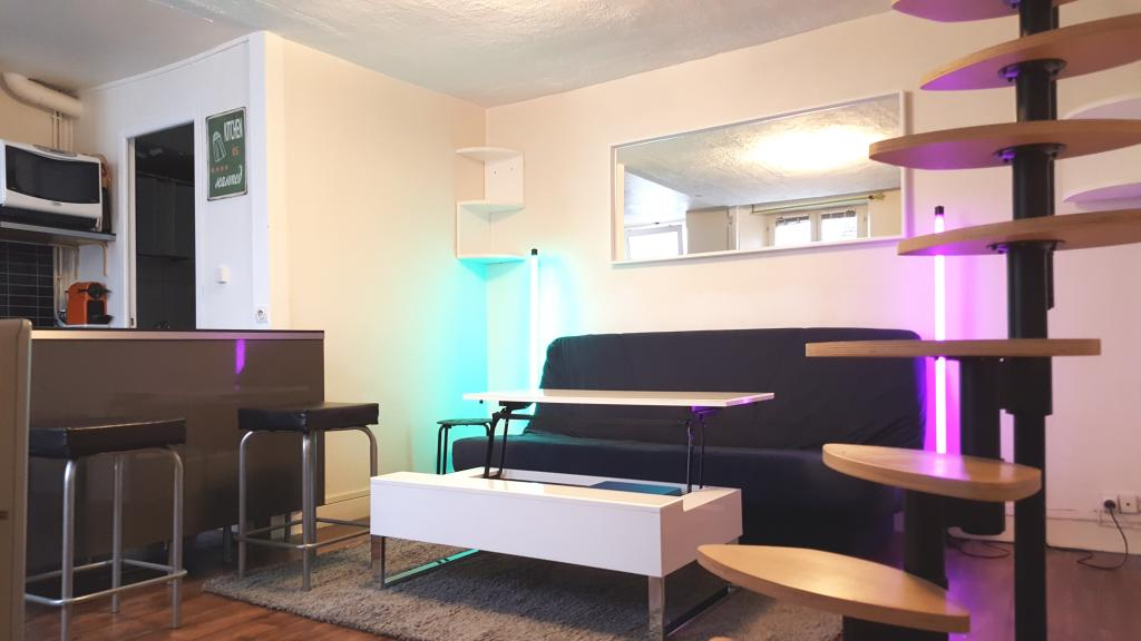 Appartement particulier à Fontainebleau, %type de 28m²