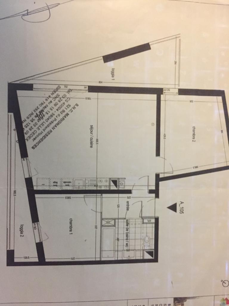 location d 39 appartement t3 meubl sans frais d 39 agence lille 897 63 m. Black Bedroom Furniture Sets. Home Design Ideas