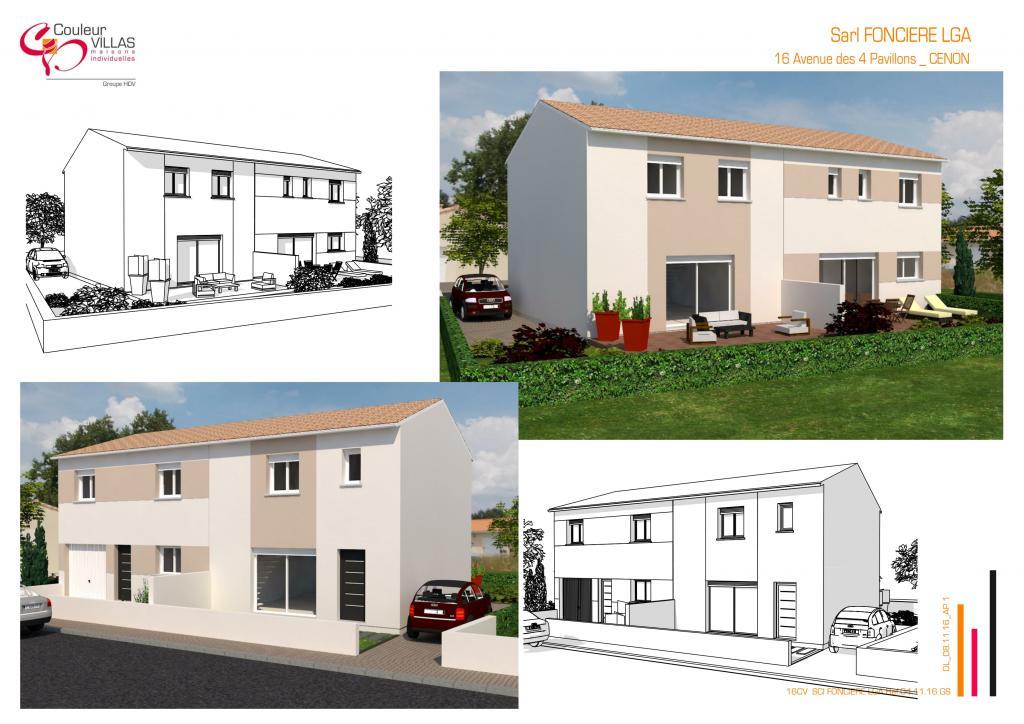 Location appartement par particulier, maison, de 100m² à Cenon