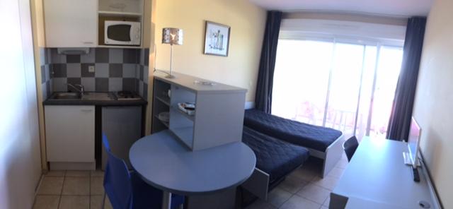 Location appartement entre particulier Lattes, de 23m² pour ce studio