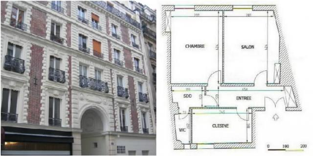 Location appartement T2 Paris 13 - Photo 4