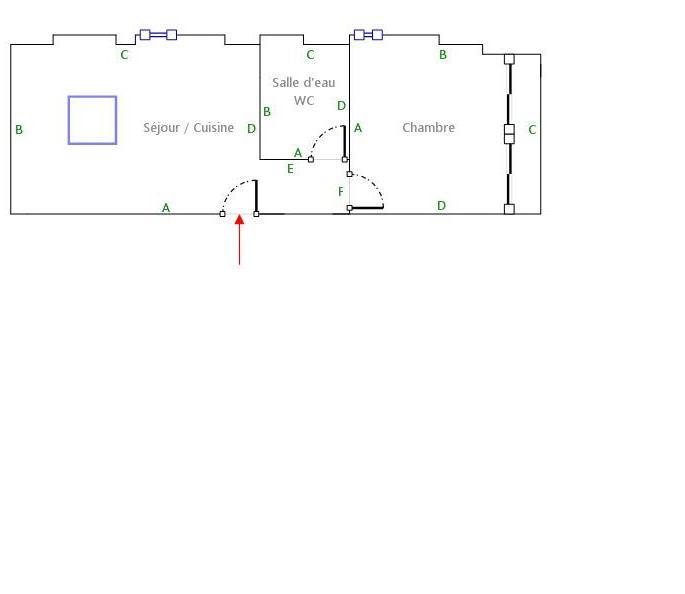 Location particulier à particulier, appartement, de 45m² à Draguignan