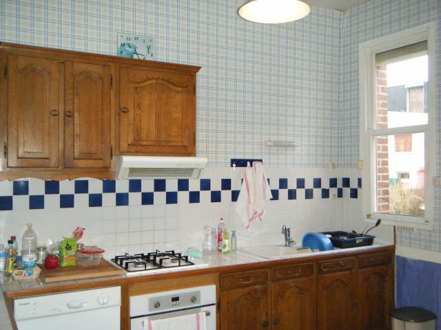 Location de maison f9 entre particuliers au treport 800 for Combien coute une cuisine amenagee