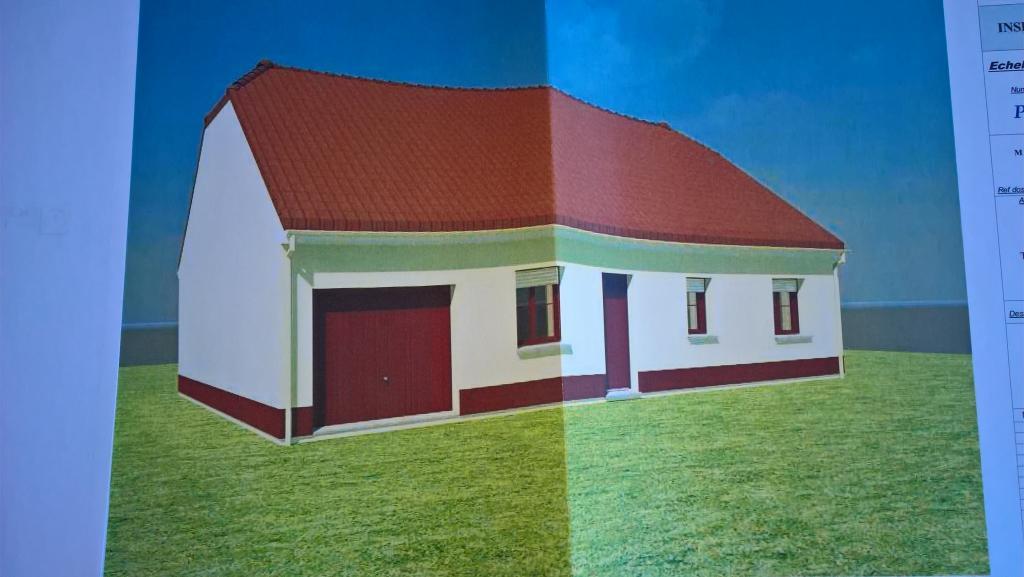 90m² pour ce joli maison