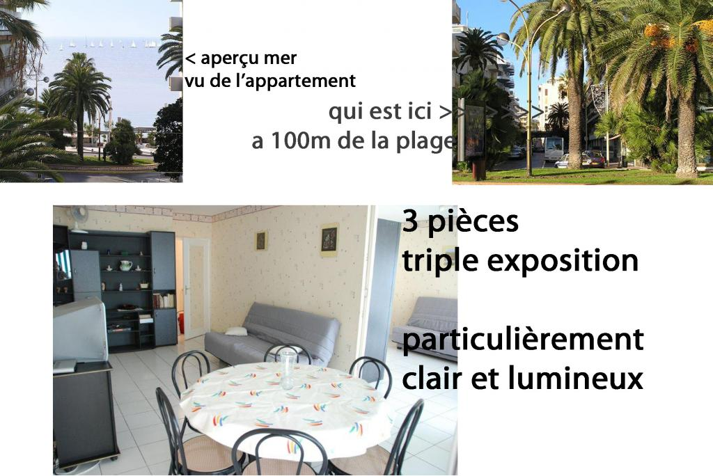 Location chambre Juan les Pins - Photo 2