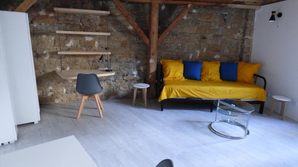 De particulier à particulier Lyon 04, appartement studio de 21m²
