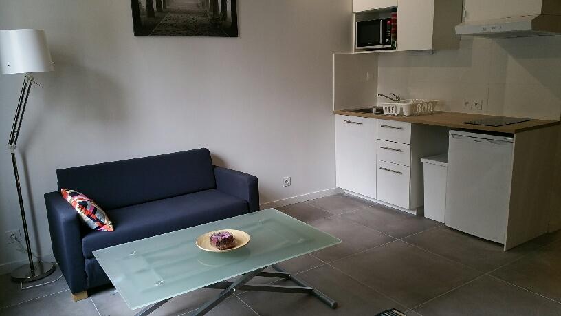 Location particulier à particulier, studio à Villeurbanne, 30m²