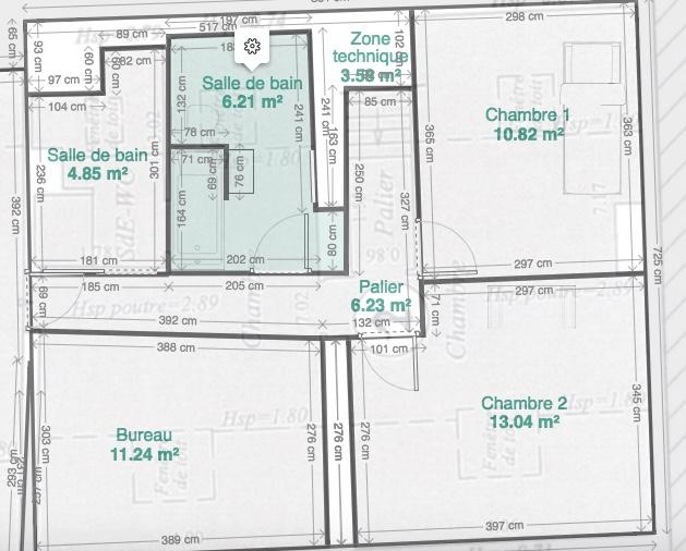 Location particulier à particulier, chambre à Argenteuil, 19m²