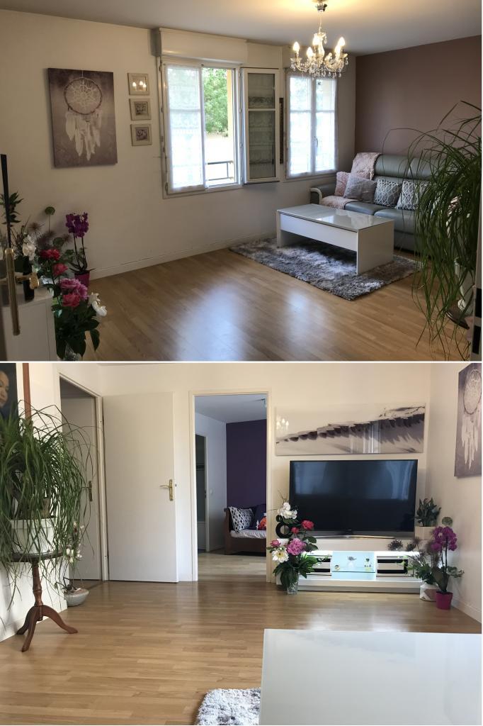 Entre particulier , appartement, de 40m² à Vauréal