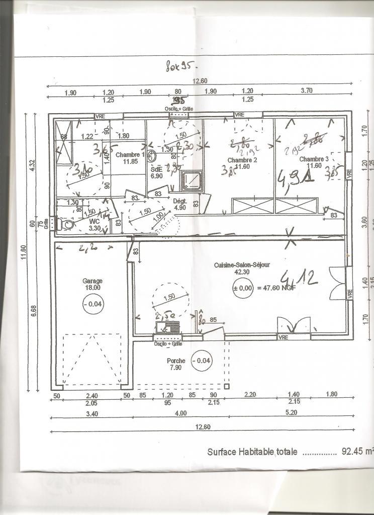 Appartement particulier à Bizanet, %type de 92m²