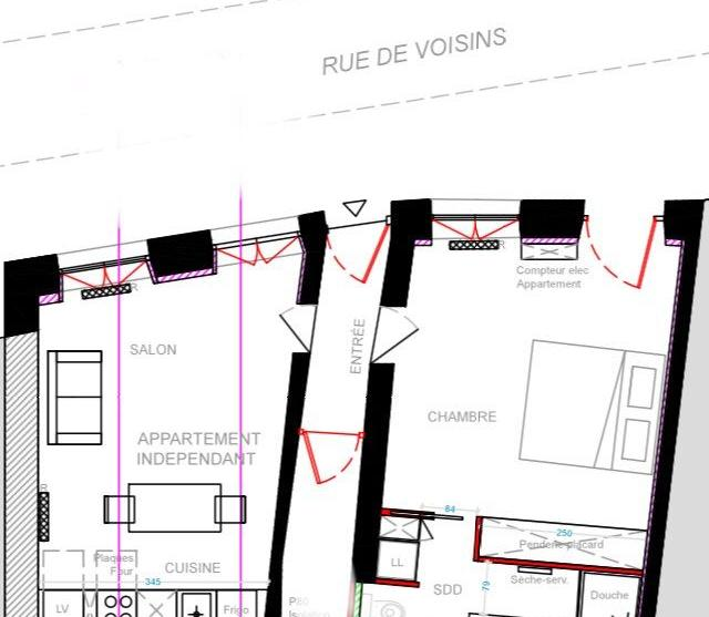 Appartement particulier, appartement, de 54m² à Louveciennes