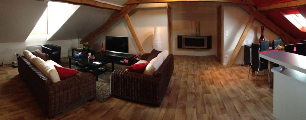 Particulier location Vaux-le-Pénil, appartement, de 63m²