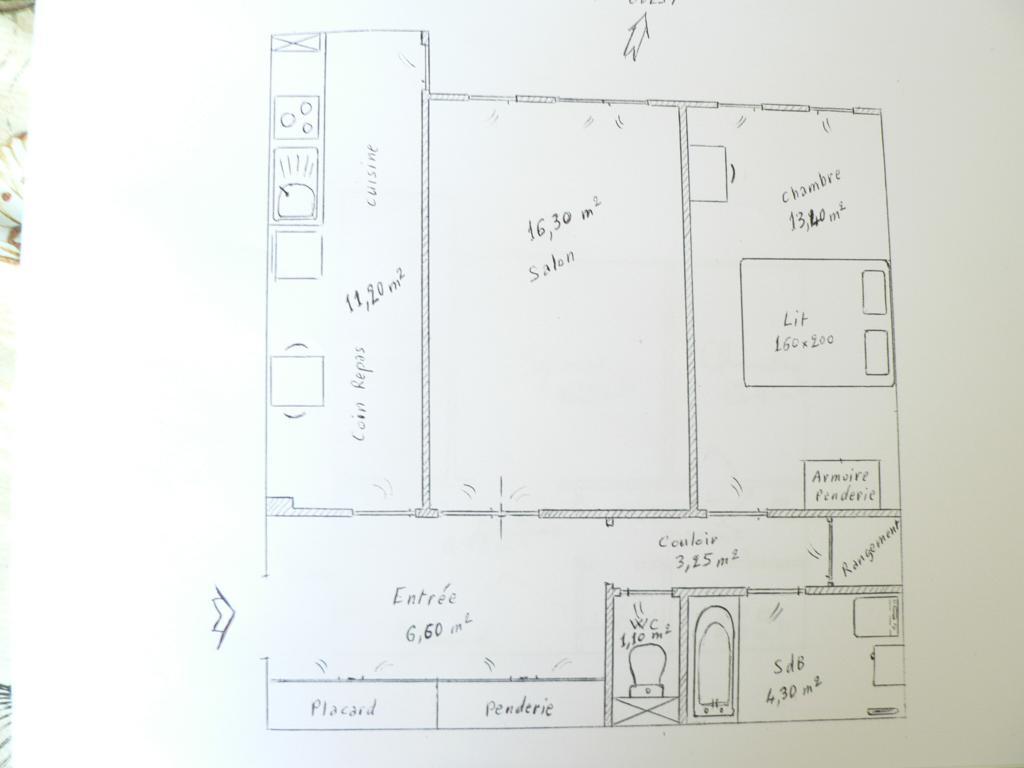 De particulier à particulier , appartement, de 56m² à Paris 11
