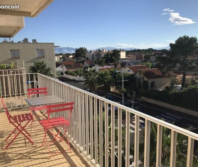 Location appartement T1 Canet en Roussillon - Photo 2