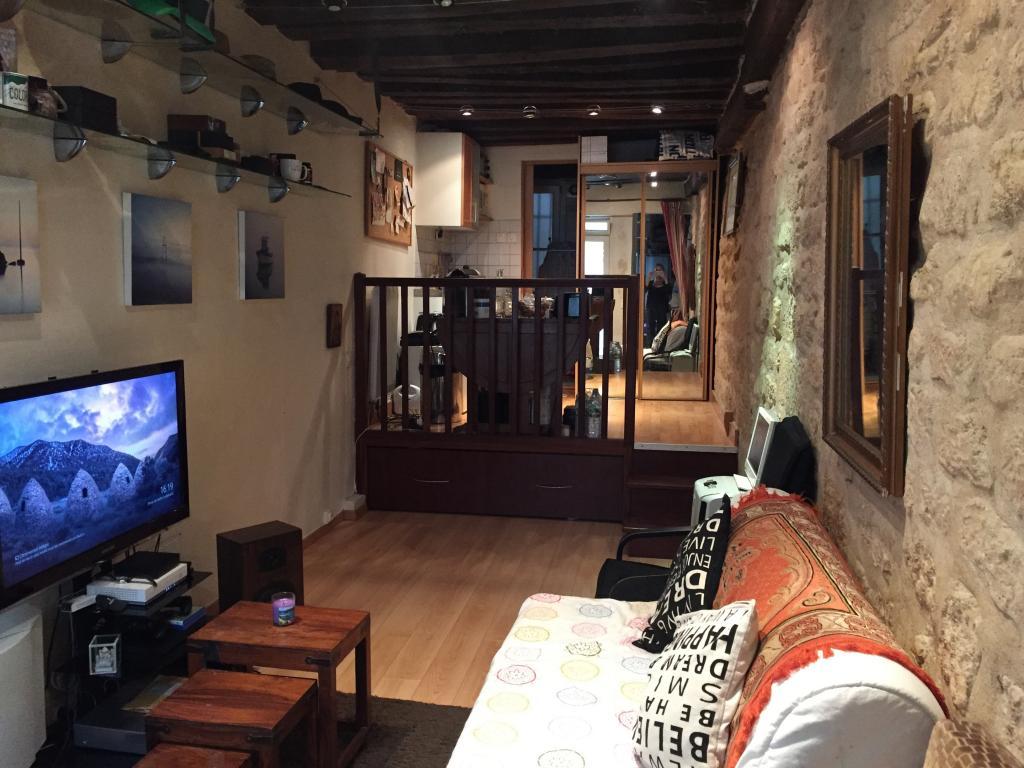 Location appartement entre particulier Paris 05, appartement de 25m²