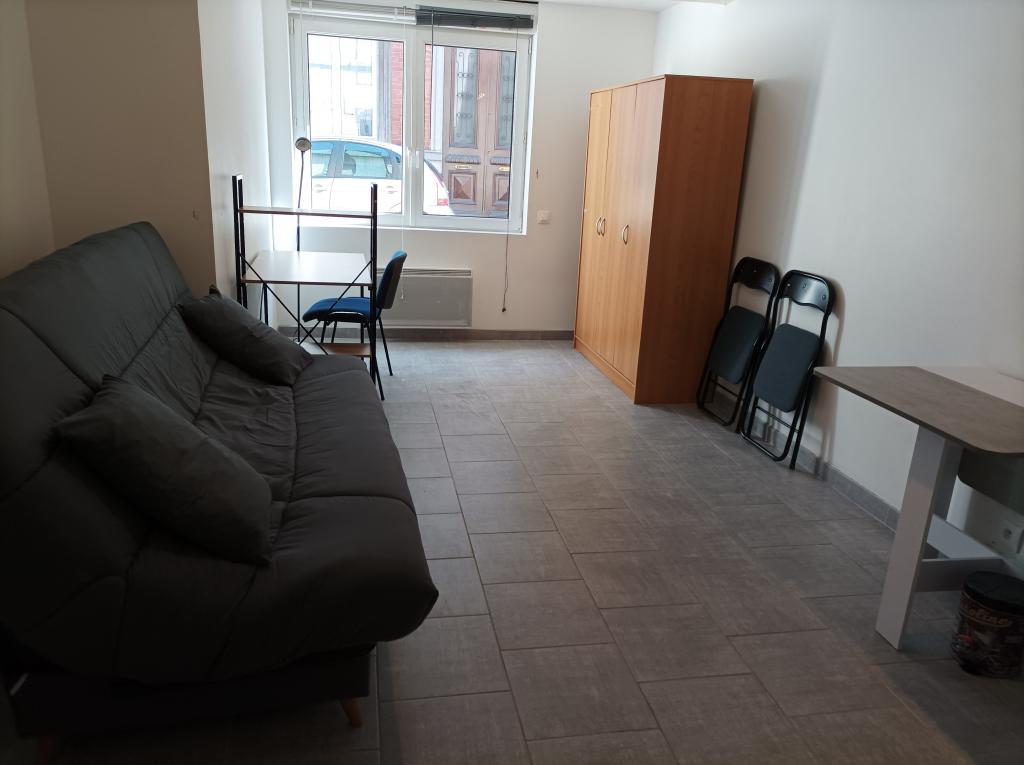 Location particulier à particulier, studio à Remaucourt, 22m²