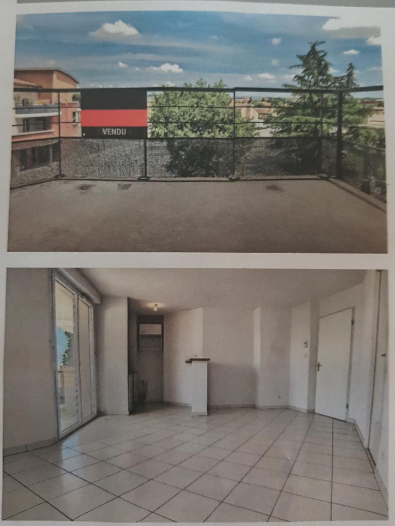 Appartement particulier à Gratentour, %type de 40m²