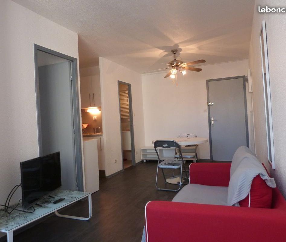 Location appartement entre particulier Narbonne, appartement de 31m²