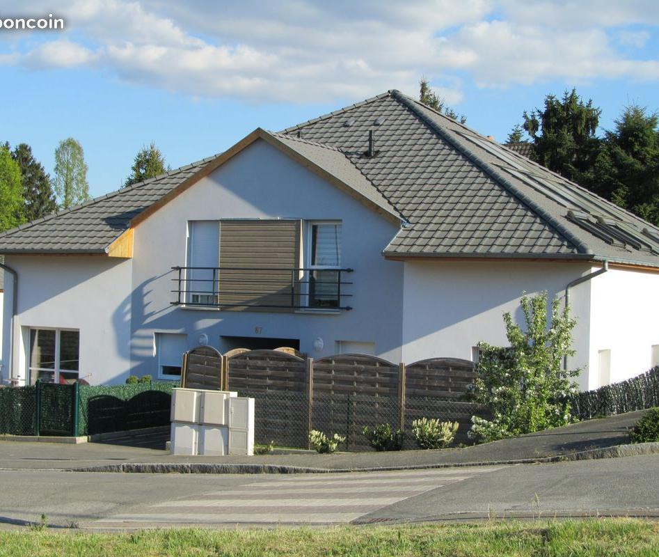Appartement particulier à Morschwiller-le-Bas, %type de 82m²