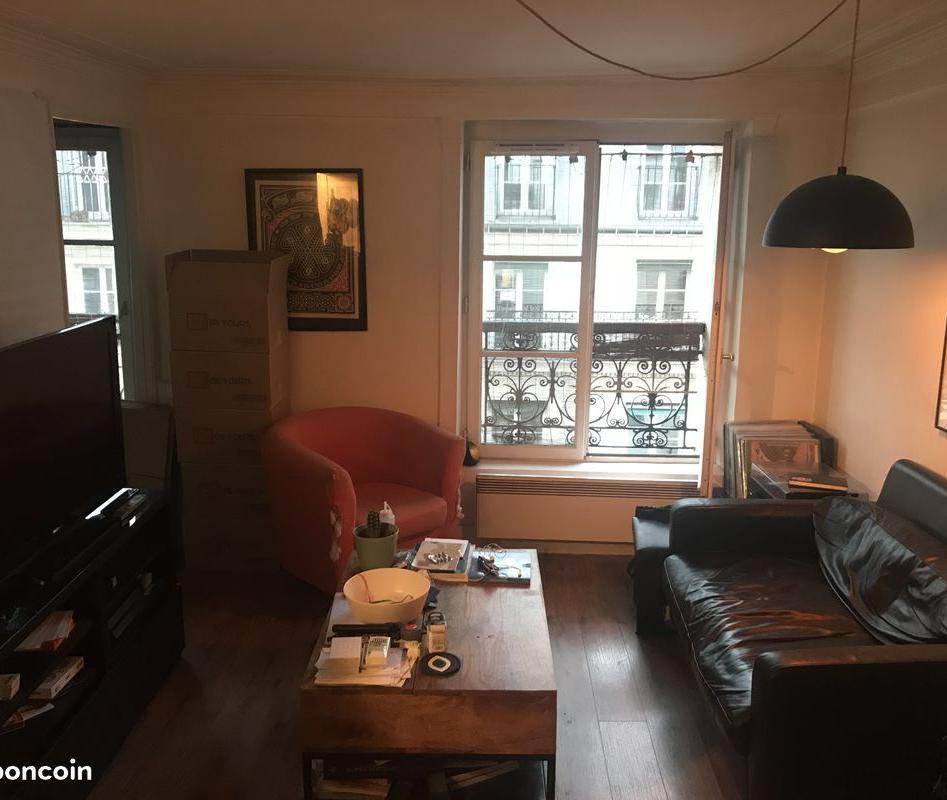 Location immobilière par particulier, Paris 01, type studio, 27m²
