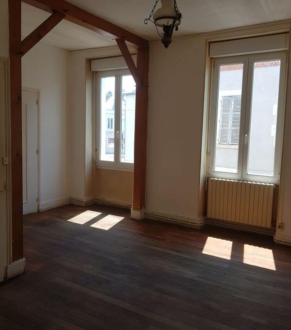 Location appartement entre particulier Vierzon, appartement de 57m²