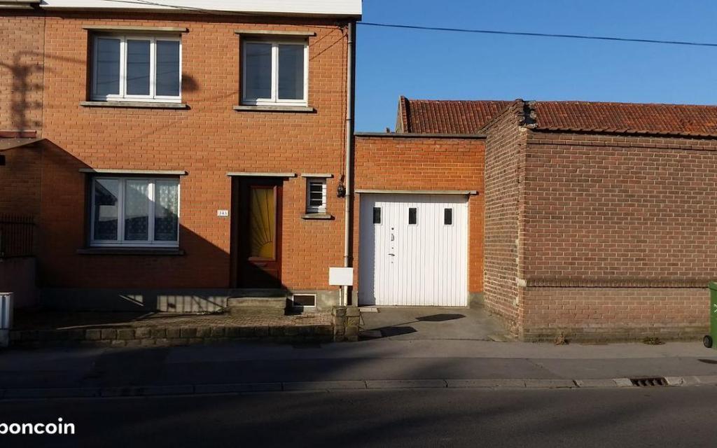 Location de particulier à particulier, maison, de 95m² à Auby