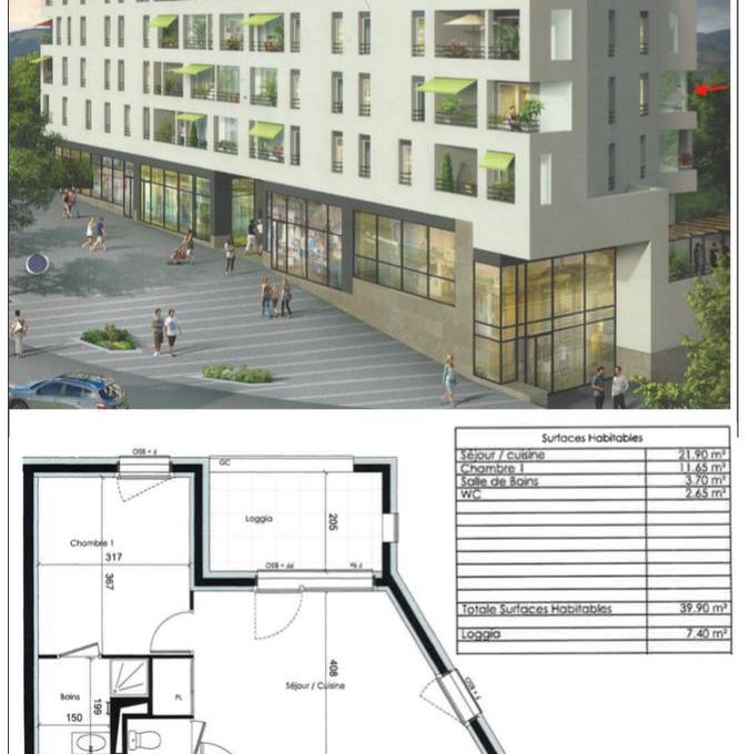 De particulier à particulier Sathonay-Village, appartement appartement de 40m²