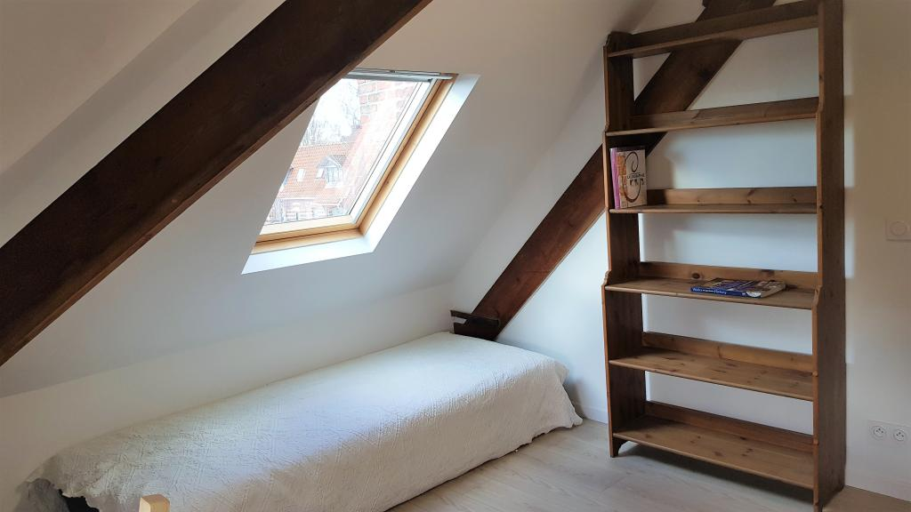 Particulier location Mons-en-Baroeul, chambre, de 16m²