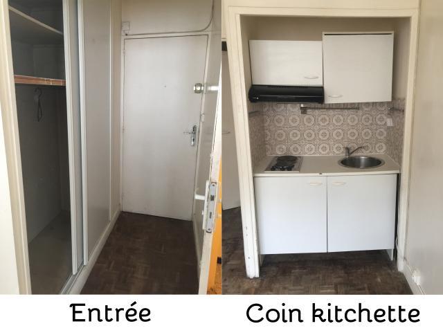 Location Studio Proche Commerces à Paris 19 850 17 M²
