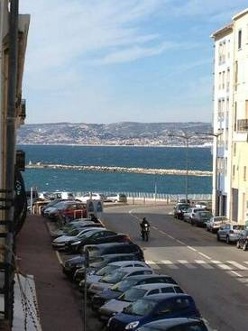 Location appartement entre particulier Marseille 07, appartement de 25m²