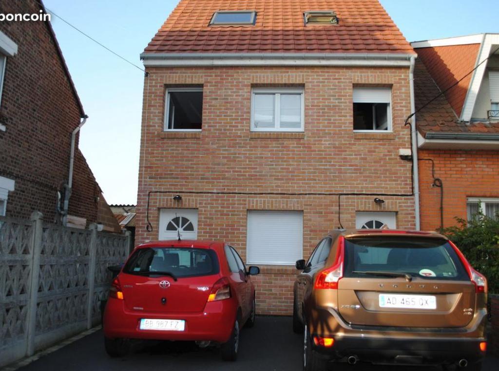 Location appartement par particulier, maison, de 90m² à Fenain