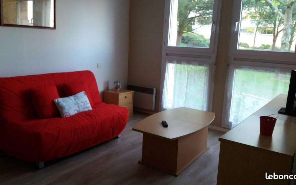Location appartement entre particulier Vannes, studio de 30m²