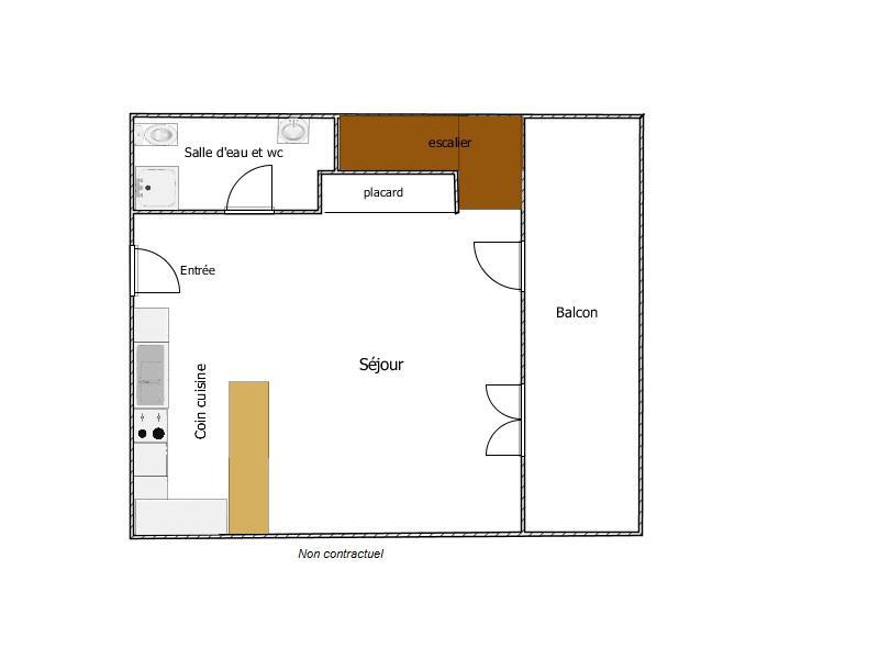 De particulier à particulier, appartement à Stains, 70m²