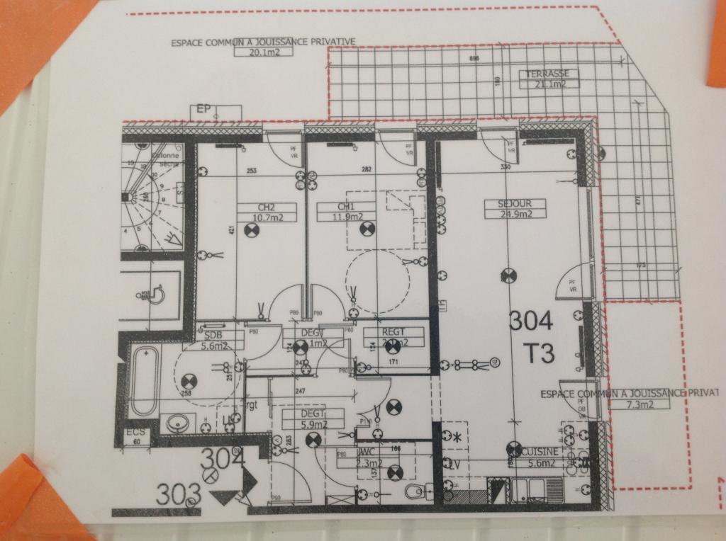 Location appartement par particulier, appartement, de 67m² à Radinghem-en-Weppes