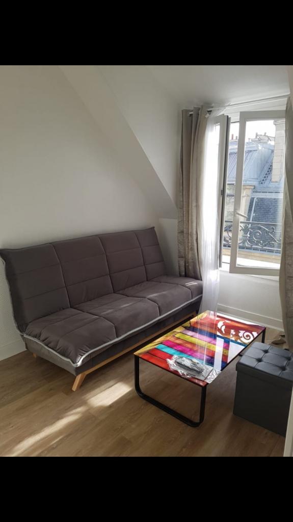 Location appartement entre particulier Paris 08, studio de 17m²