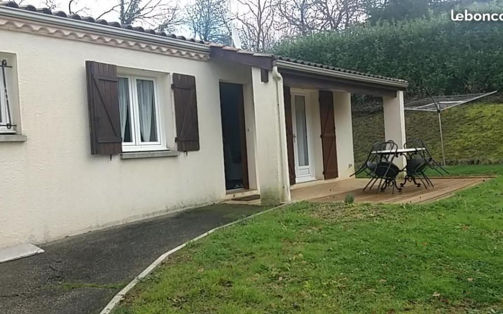 Location de particulier à particulier à Pont-du-Casse, appartement maison de 100m²