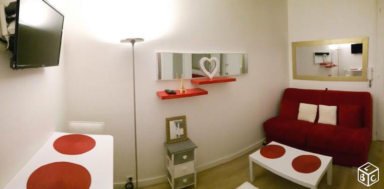 De particulier à particulier Paris 16, appartement studio, 13m²