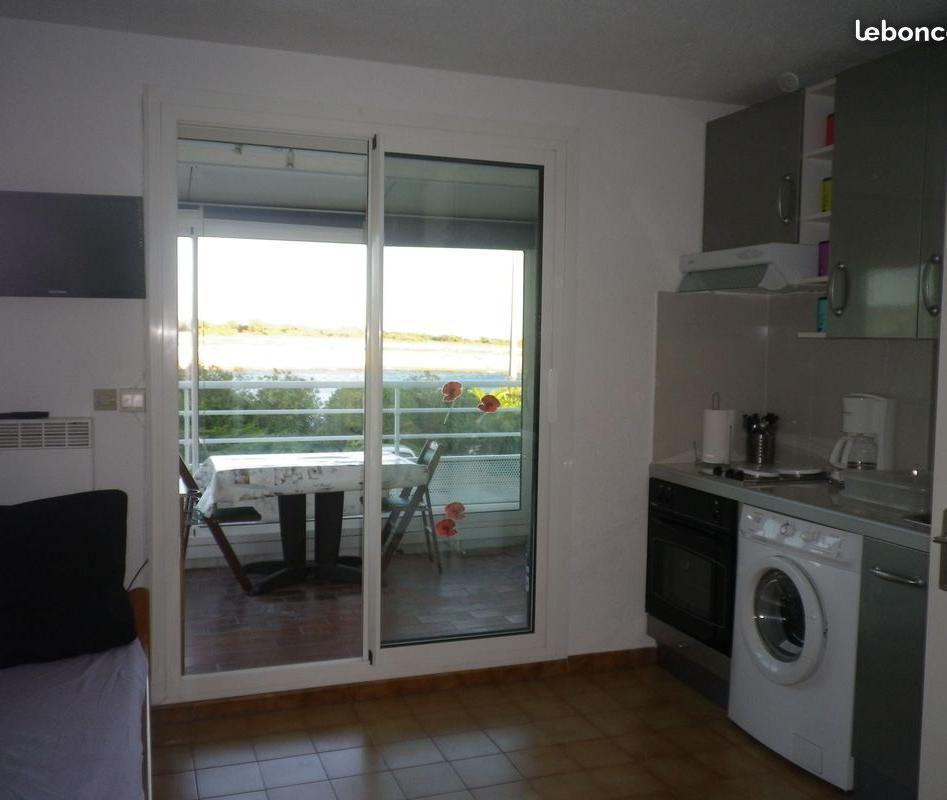 Location de particulier à particulier à Martigues, appartement studio de 25m²