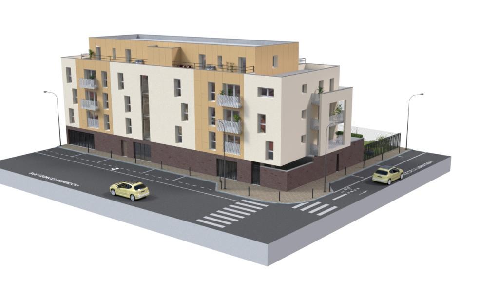 Location appartement entre particulier La Madeleine, appartement de 45m²