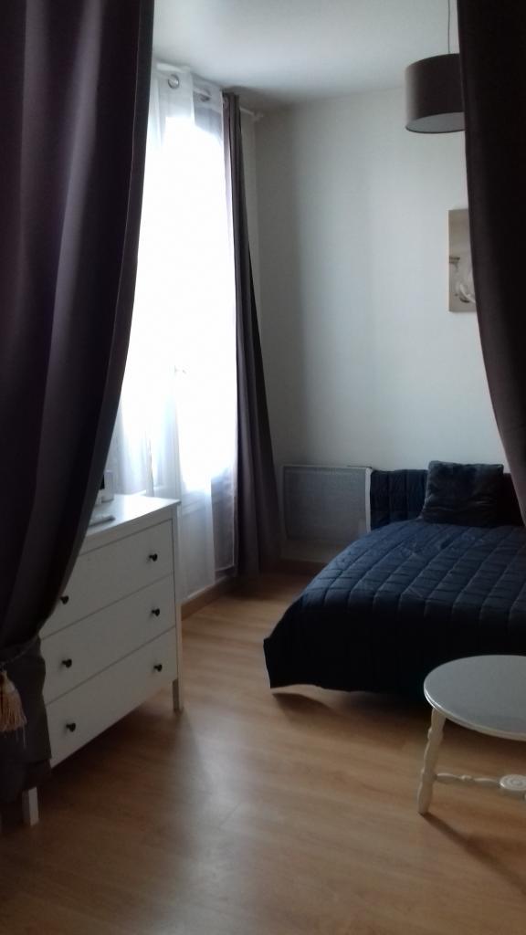 Location appartement entre particulier Bonneville-sur-Touques, studio de 16m²