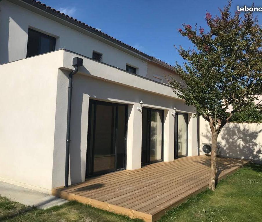 Location immobilière par particulier, Bordeaux, type maison, 120m²